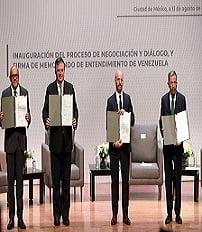 Mesa diálogo México
